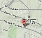 Langley Chiropractor Map